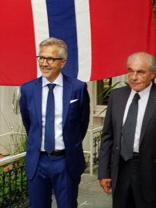 Photo: Konsul Diego Klaus og Dieter Meyer